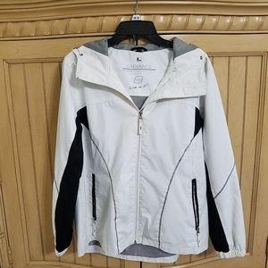 Free Country Radiance White Jacket, sz Large